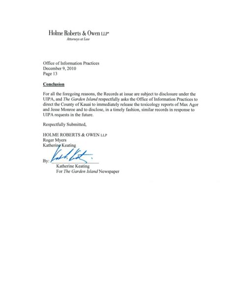authorization letter for diploma and transcript of records tgi attorney december 2010 letter to oip