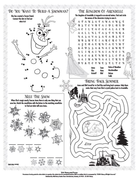free frozen coloring pages and activities inspired by kidfresh and disney partner during