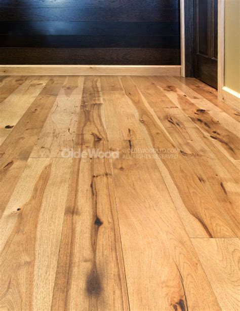 Plank Hardwood Flooring Wide Plank Hickory Flooring Hickory Wood Floor Olde Wood