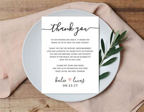 Best 25  Wedding thank you wording ideas on Pinterest