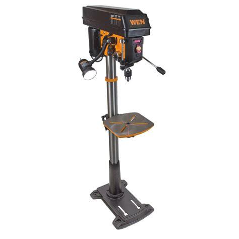 wen 8 6 15 in floor standing drill press with