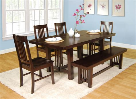 collection  craftsman  piece extension dining sets