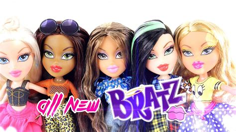 new bratz doll review all new bratz hello my name is doll