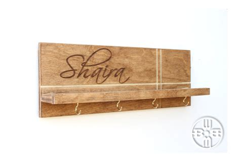 modern key holder for wall personalized home decor