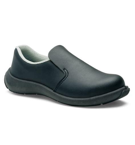 chaussures de cuisine de securite femme bianca noir