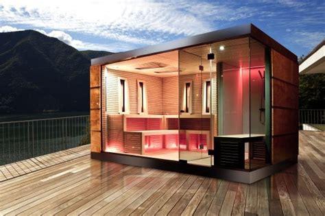 moderne sauna moderne sauna buiten inspiratie sauna