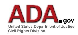 u s department of justice civil rights division disability rights section ada gov homepage