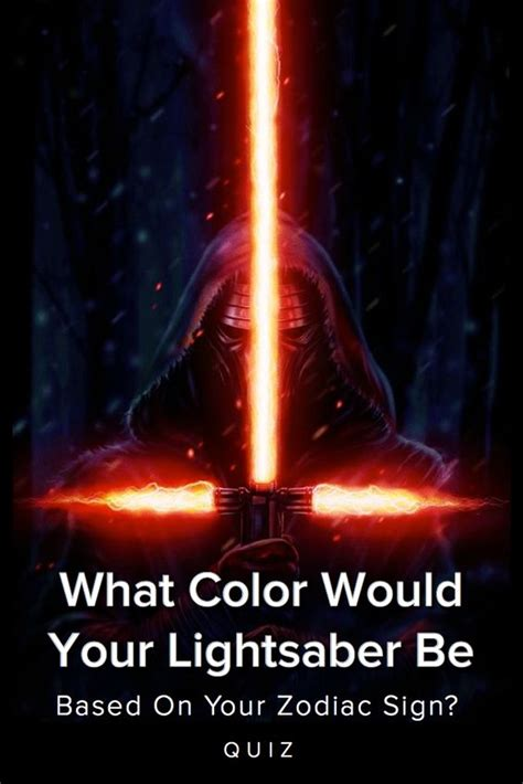 quiz what color would your lightsaber be based on your