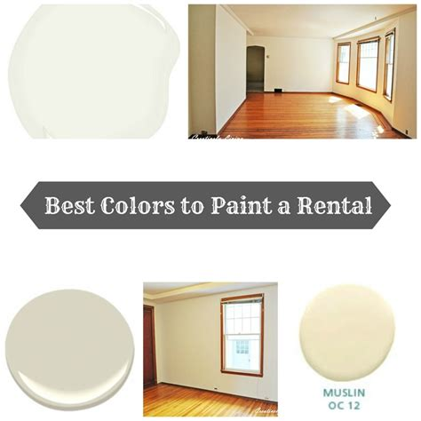 best colors to paint rentals creatively living