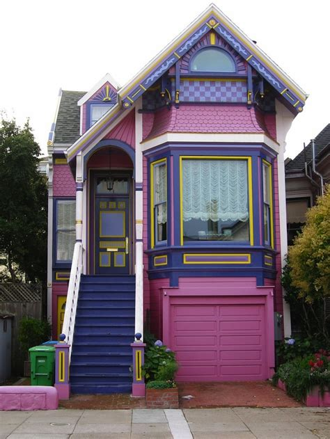 buy house in san francisco outrageously coloured homes you ll only find in san francisco
