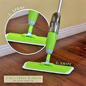 Shampoo Rug Linkyo Quick Swipe Microfiber Spray Mop 3 Floor Mop Pads