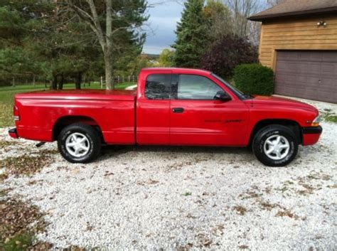 dodge dakota 2 door buy used 1999 dodge dakota sport extended cab 2