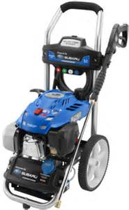 Subaru Pressure Washer Ea190v Gas Pressure Washer Input Advice On The Quot And