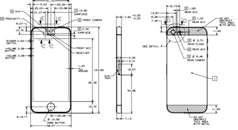 iphone 5s blueprints show what makers think apple is