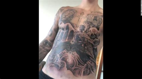 justin bieber tattoo artist justin bieber why his torso is in the news cnn