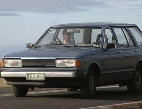 datsun bluebird wagon imcdb org 1981 datsun bluebird wagon 910 in quot blue