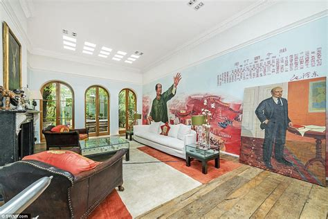 saddam hussein bathroom london home with a saddam hussein mural up for rent