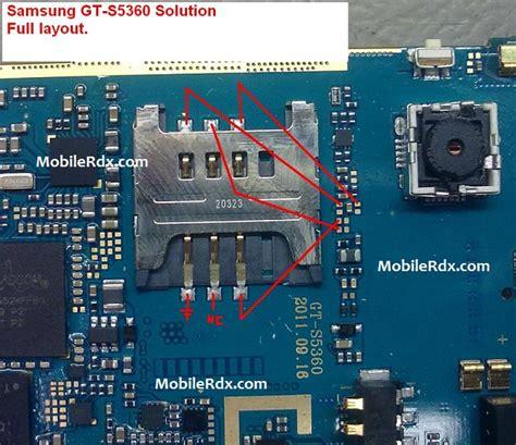 jump for samsung galaxy y samsung s5360 sim track ways jumper solution