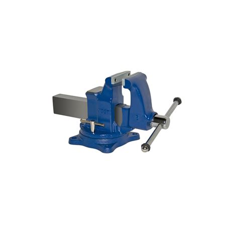 bench vise lowes shop yost 5 in ductile iron combination pipe bench vise