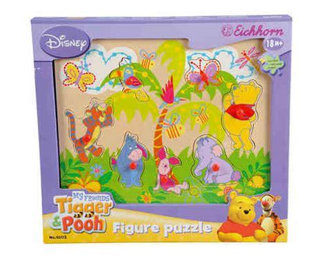 3 Set Puzzle Winnie The Pooh 12 Pcs jouets en bois plushtoy