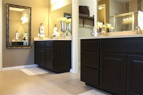 How To Separate Bathroom Vanity From Master Bedroom by Bathroom 028 Burrows Cabinets Central Builder