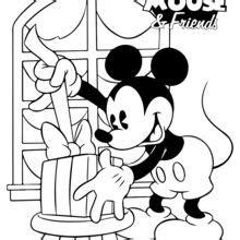 dibujos para colorear mickey navidad es hellokids com