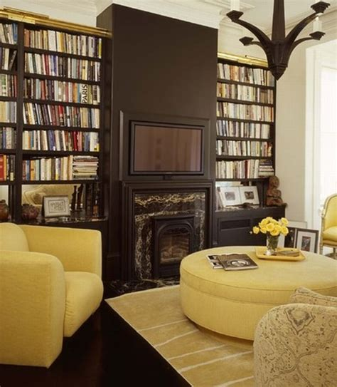 Living Room Library Design Ideas Interesting Home Library Designs For Modern Homes