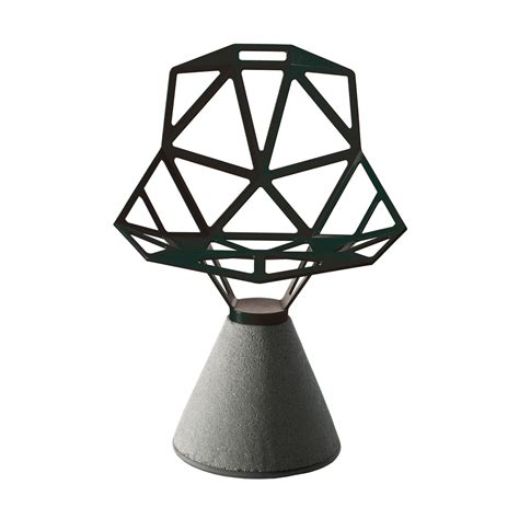 chair one mit zement sockel magis shop - Chair One