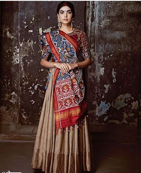 how to drape a lehenga choli 17 best images about patola sarees on pinterest