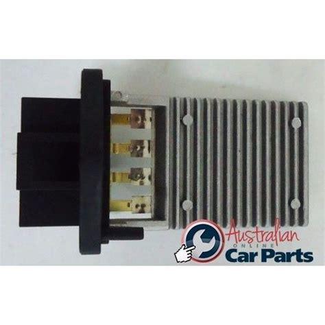 blower fan resistor vs commodore commodore fan resistor vt vx vy vz ac blower motor genuine holden new 92146293