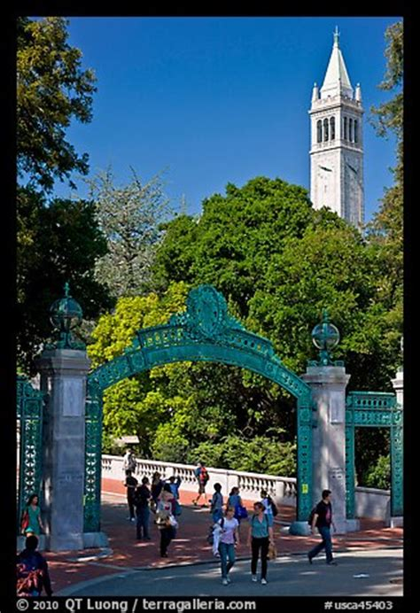 uc berkeley colors picture photo sather gate and canile uc berkeley