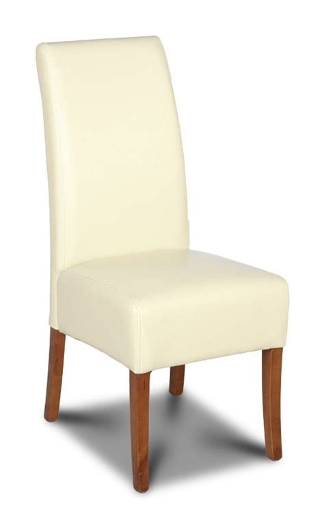 cream leather dining room chairs cream dining room chair made with real leather