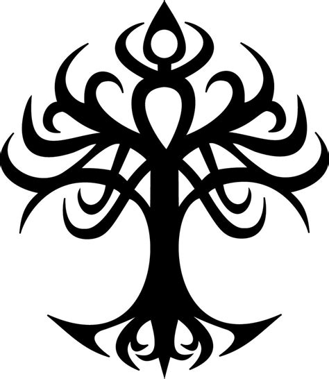 tribal tattoo tree tree of tribal by odari on deviantart