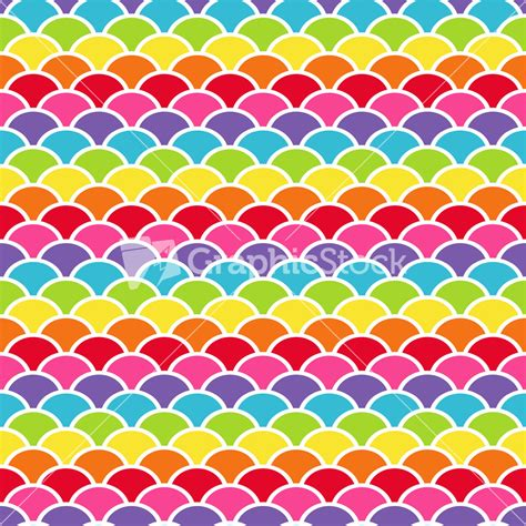 what pattern is the rainbow rainbow scales pattern