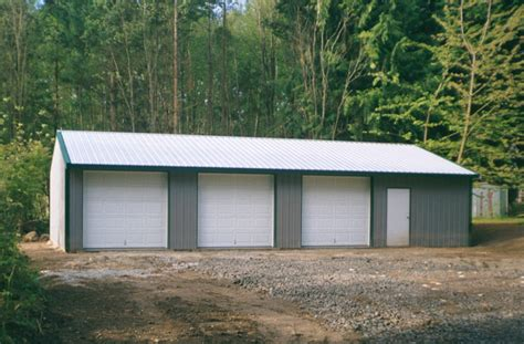 24 X 48 Garage by Gallery Sound Building Systems