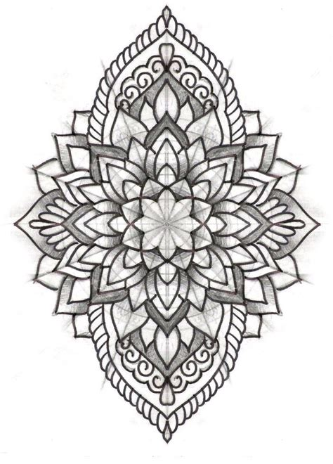 mandala tattoo template 25 best ideas about mandala design on pinterest mandela