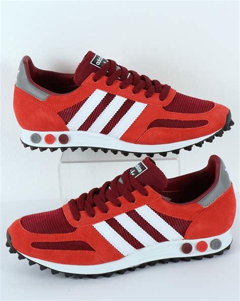 Adidas La Trainer adidas la trainer og burgundy original runner mens