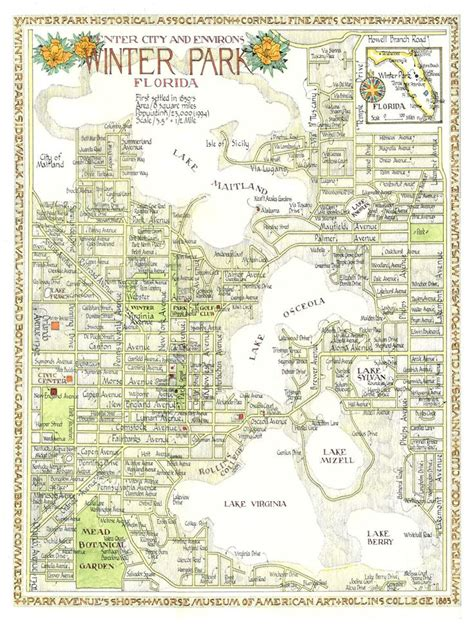 map of winter florida 17 best images about community winter park fl on