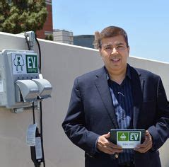 cus parking lots become living labs for electric car research ucla