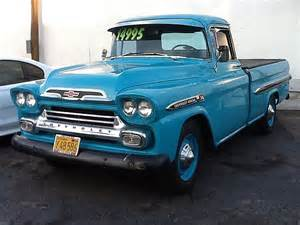 1959 chevrolet apache 36 for sale woodland california