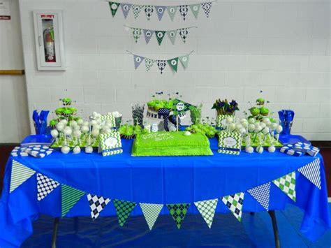 75th Birthday Decorations by Golf Themed 75th Birthday Dessert Table
