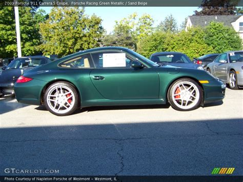 racing green porsche 2009 porsche 911 s coupe in porsche racing green