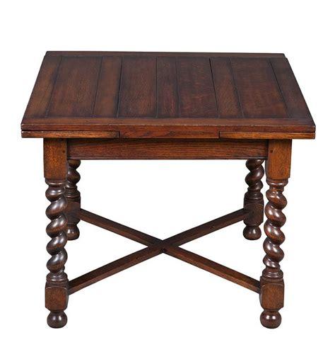 oak table with leaf antique oak draw leaf pub table leaves