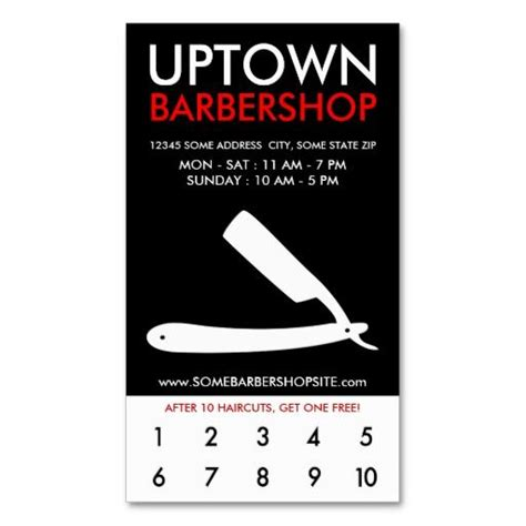 free barber business card template 197 best images about barber business cards on
