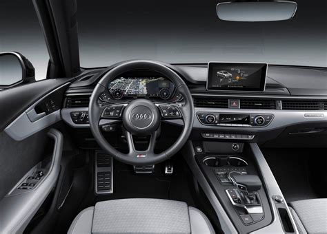 2019 audi a4 interior 2019 audi a4 facelift debuts adds s line competition trim