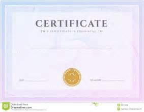 certificate diploma template award pattern royalty free