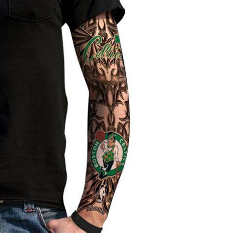 boston celtics tattoos boston celtics light undertone sleeve