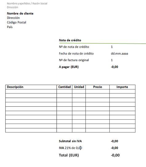 factura nota de cargo nota de credito recibo de nota de cr 233 dito 191 qu 233 es una nota de cr 233 dito modelo