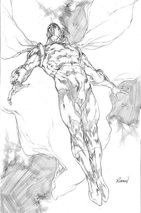F Robson Sketches by Doctor Fate Pencils By Robson Rocha Comic Comic