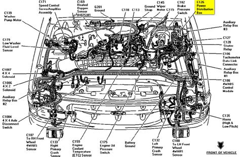 1996 ford ranger engine diagram 1996 ford ranger headlight wiring diagram efcaviation